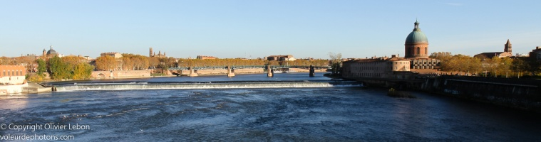 Paysage urbain : Toulouse